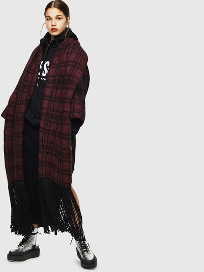 Diesel - M-BOU, Dark Violet - Sweaters - Image 1