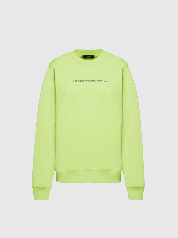 F-ANG-COPY, Green Fluo - Sweatshirts