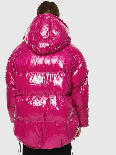 Diesel - W-ALLA, Pink Fluo - Winter Jackets - Image 2