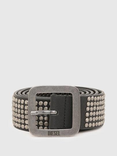Diesel - B-CINGU, Negro - Cinturones - Image 1