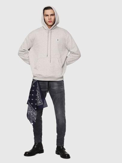 Diesel - Krooley JoggJeans 069EP, Black/Dark Grey - Jeans - Image 4