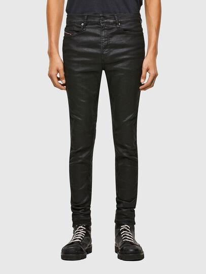 Diesel - D-Reeft Skinny JoggJeans® 069TE, Black/Dark Grey - Jeans - Image 1