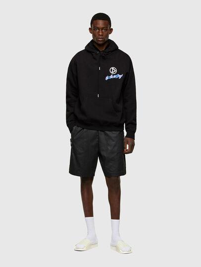 Diesel - S-UMMER-E4, Black - Sweatshirts - Image 5