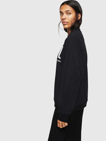Diesel - F-ANG, Black - Sweatshirts - Image 6
