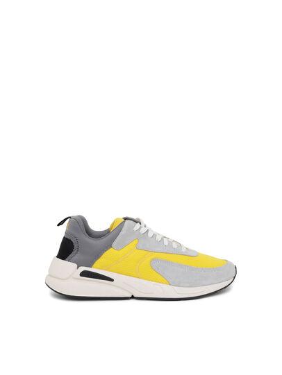 Diesel - S-SERENDIPITY LOW CU, Grey/Yellow - Sneakers - Image 1