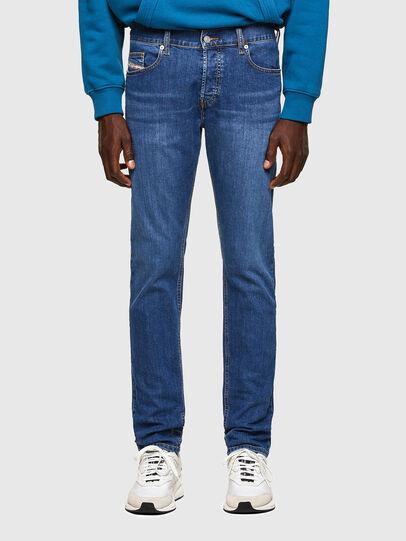 Diesel - D-Luster Slim Jeans 009DG, Medium Blue - Jeans - Image 1