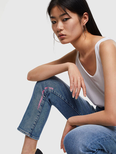 Diesel - D-Eiselle 0096X, Medium Blue - Jeans - Image 4