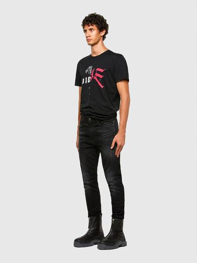 Diesel - T-DIUBBLE-N1, Black - T-Shirts - Image 5