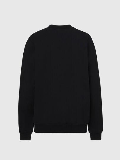 Diesel - F-ANG-COPY, Black - Sweatshirts - Image 2