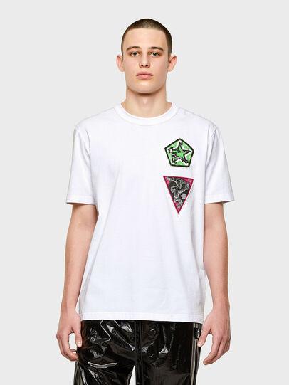 Diesel - T-JUBIND-SLITS-E1,  - T-Shirts - Image 1