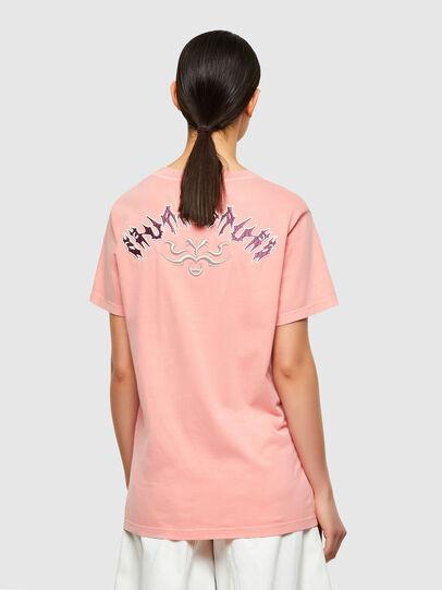 Diesel - T-DARIA-A3, Pink - T-Shirts - Image 2