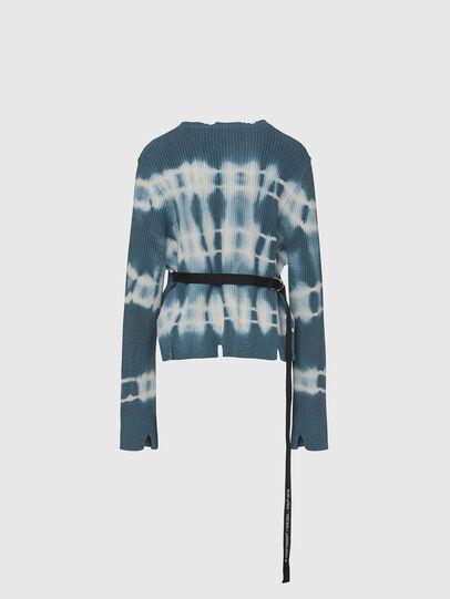Diesel - M-JONGE, Green/White - Sweaters - Image 2