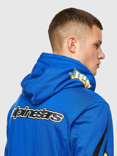 Diesel - ASTARS-T-JUSTOOD, Blue - T-Shirts - Image 3