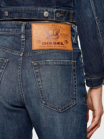Diesel - D-Reggy Straight Jeans 09A06, Dark Blue - Jeans - Image 4