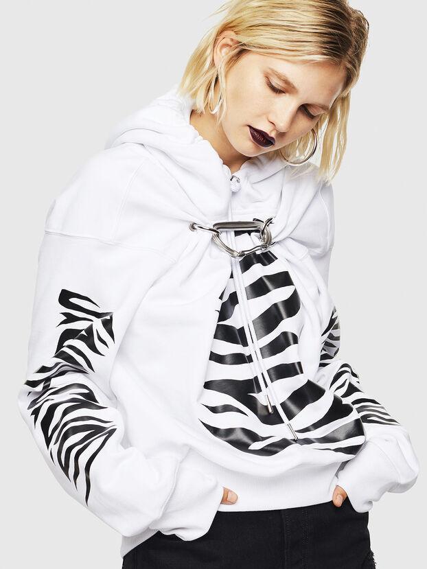 F-ALBYHOOK-C, White - Sweatshirts