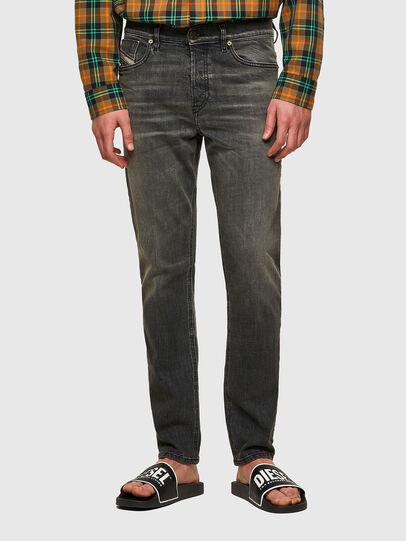 Diesel - D-Fining Tapered Jeans 09A73, Black/Dark Grey - Jeans - Image 1