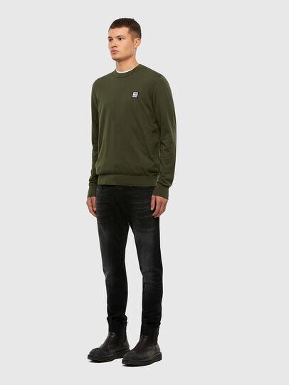 Diesel - K-FREEX-B, Military Green - Sweaters - Image 4