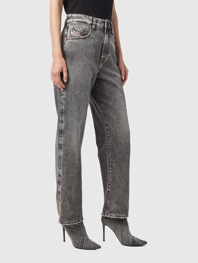 Diesel - D-Reggy Straight Jeans 09B13, Black/Dark grey - Jeans - Image 5