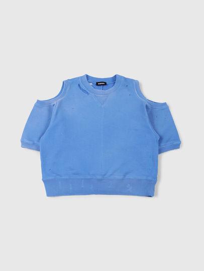 Diesel - SFADAM MC, Azure - Sweatshirts - Image 1