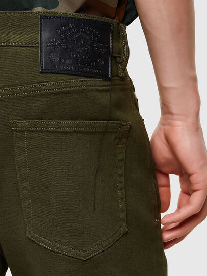 Diesel - D-Strukt Slim Jeans 009ZF, Military Green - Jeans - Image 4