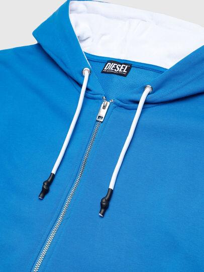 Diesel - UMLT-BRANDON-Z-SP, Blue/White - Sweatshirts - Image 4