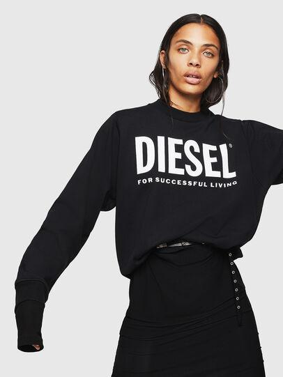 Diesel - F-ANG, Black - Sweatshirts - Image 4