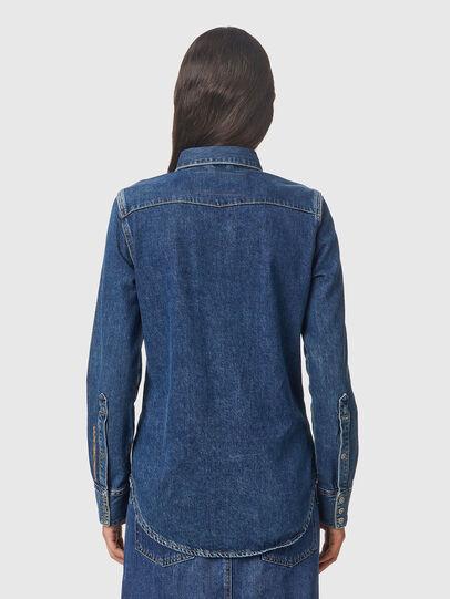 Diesel - DE-RINGY, Azul Oscuro - Camisas de Denim - Image 2