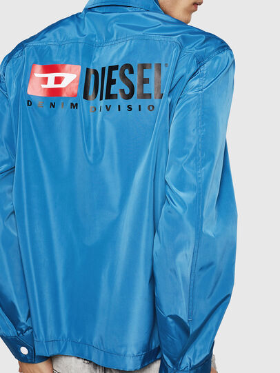 Diesel - J-ROMAN-P, Blue - Jackets - Image 2
