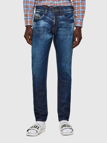 Diesel - D-Strukt Slim Jeans 09A13, Medium Blue - Jeans - Image 1