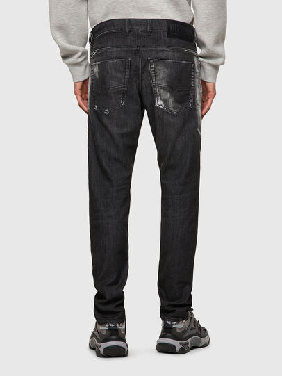 Diesel - Krooley Tapered JoggJeans® 09B53, Black/Dark Grey - Jeans - Image 2