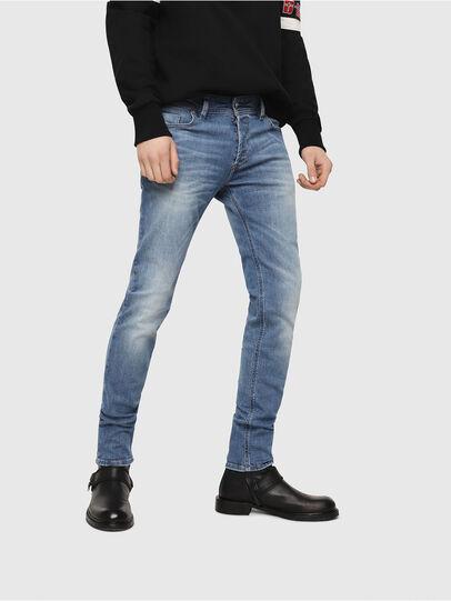 Diesel - Sleenker CN018, Medium Blue - Jeans - Image 1