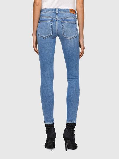 Diesel - Slandy Low Skinny Jeans 009ZY, Light Blue - Jeans - Image 2