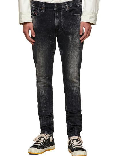 Diesel - D-Amny Skinny Jeans 009PX, Black/Dark Grey - Jeans - Image 1
