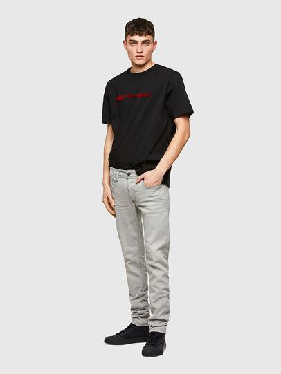 Diesel - Sleenker Skinny Jeans 009PY, Light Grey - Jeans - Image 5