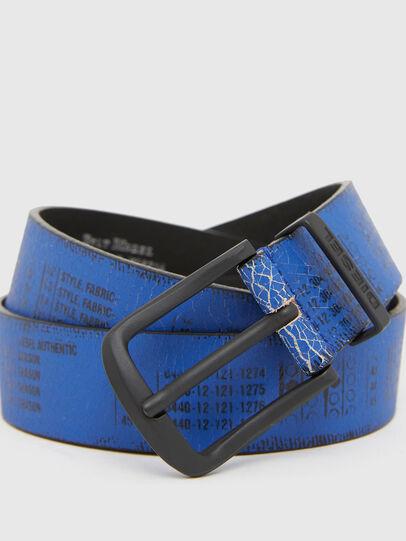 Diesel - B-DERUB, Black/Blue - Belts - Image 2