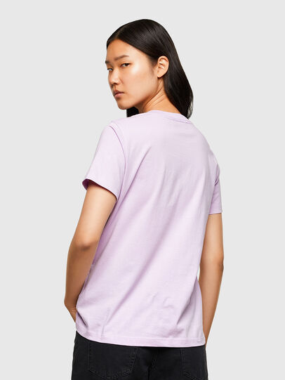 Diesel - T-SILY-R5, Lilac - T-Shirts - Image 2