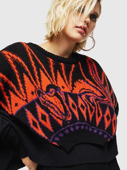 Diesel - M-TAO, Black - Sweaters - Image 4