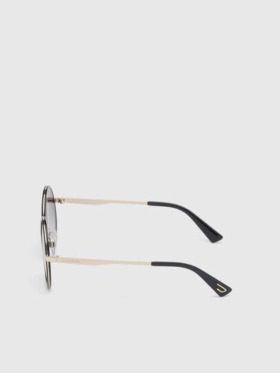 Diesel - DL0276, Black/Gold - Sunglasses - Image 3