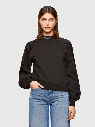 Diesel - F-TULIP, Black - Sweatshirts - Image 1