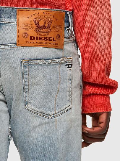Diesel - D-Strukt Slim Jeans 09A04, Light Blue - Jeans - Image 3
