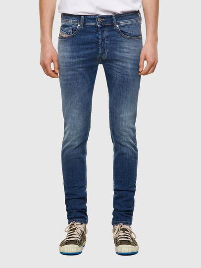 Diesel - Sleenker Skinny Jeans 09A60, Medium Blue - Jeans - Image 1