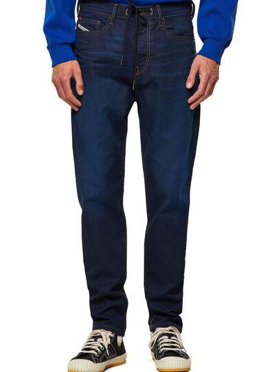 Diesel - D-VIDER Carrot JoggJeans® Z69VZ, Dark Blue - Jeans - Image 1