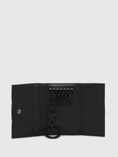 Diesel - KEYCASE O, Black/Green - Bijoux and Gadgets - Image 3