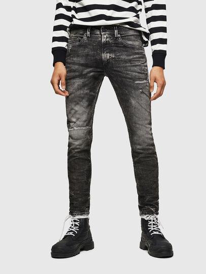 Diesel - Thommer JoggJeans 0890B, Black/Dark Grey - Jeans - Image 1