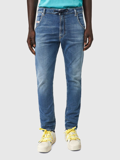 Diesel - Krooley Tapered JoggJeans® Z69VK, Medium blue - Jeans - Image 1