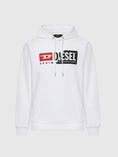 Diesel - S-GIRK-HOOD-CUTY,  - Sweatshirts - Image 1