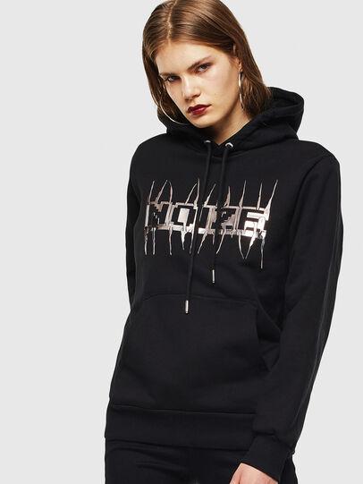 Diesel - S-GIRK-HOOD-J1, Black - Sweatshirts - Image 2