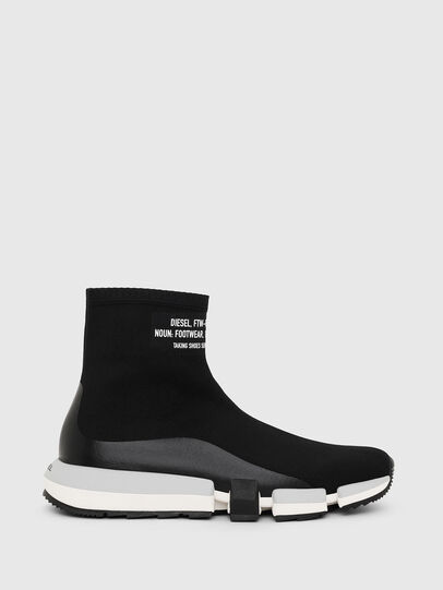Diesel - H-PADOLA HIGH SOCK, Black - Sneakers - Image 1