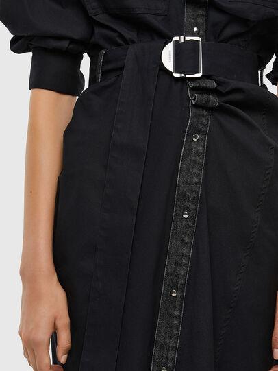 Diesel - D-CALYN, Black - Dresses - Image 4