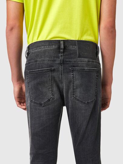 Diesel - D-Istort Skinny Jeans 069YC, Black/Dark grey - Jeans - Image 4